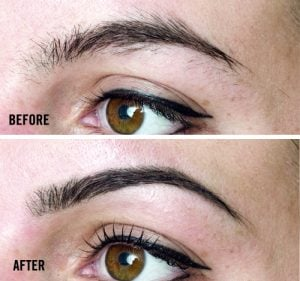LP Brows Before & After